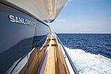 Balance yacht exterior detail