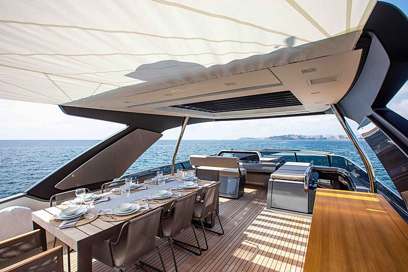 Balance yacht deck