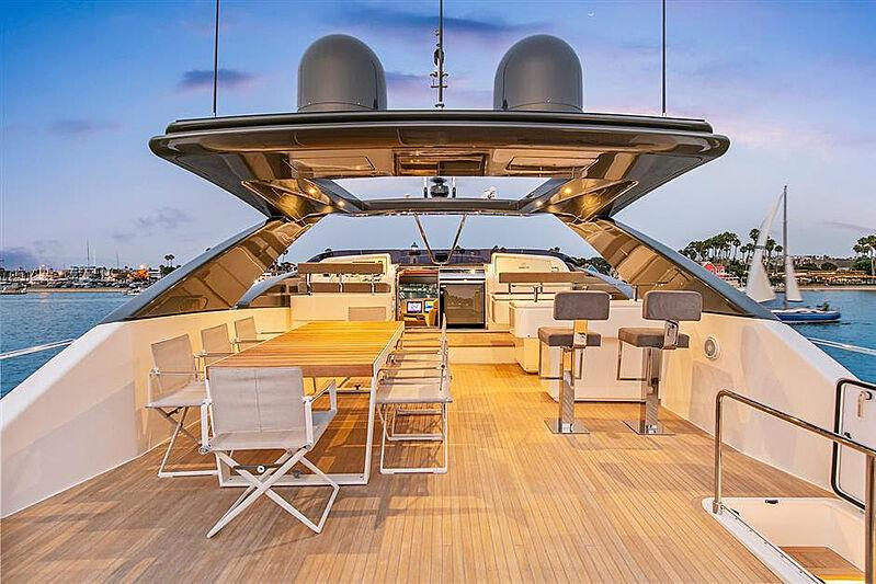 Lontano yacht deck