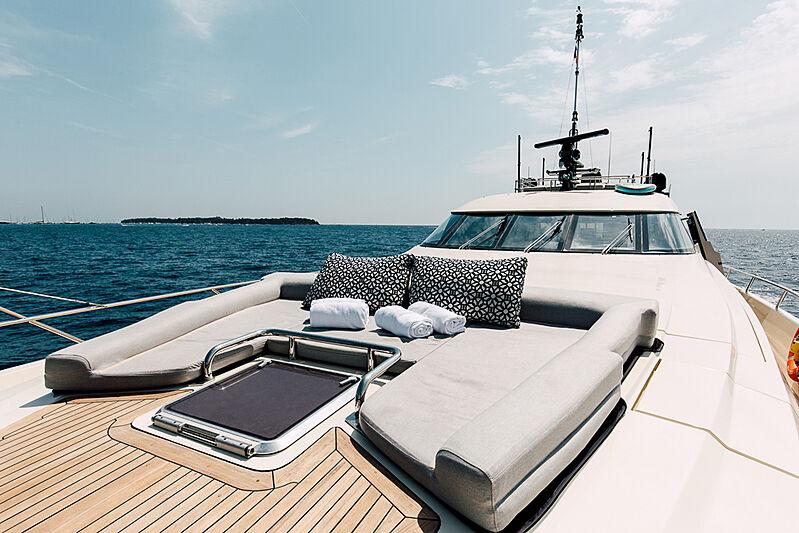 Bagheera yacht sundeck