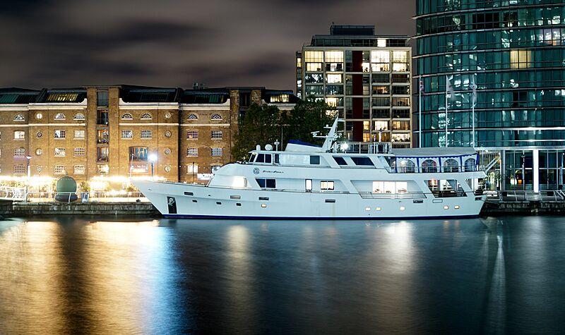 Absolute Pleasure yacht in London