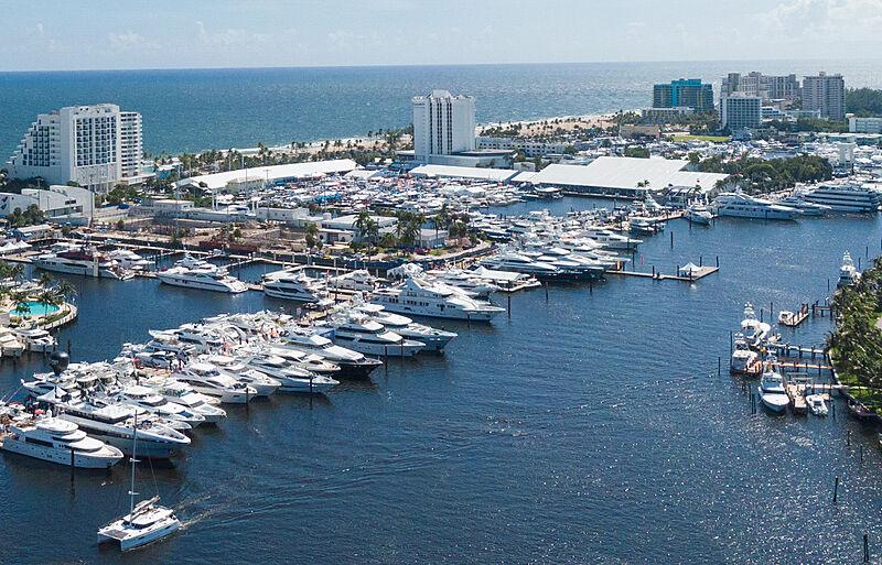 Yachts at FLIBS 2020