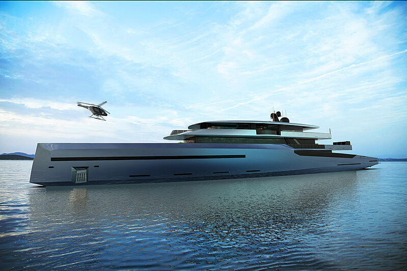 75m Bravo 75 yacht concept by BYD Group