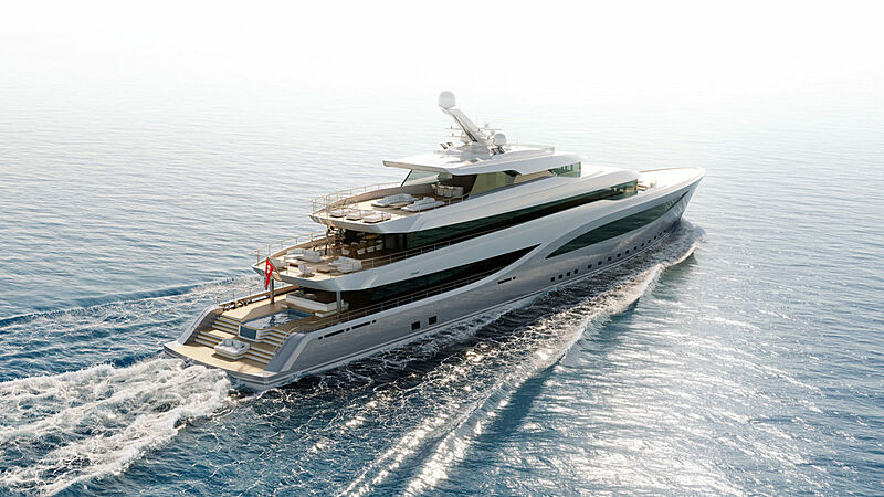 65m Project Freedom design concept by FM Architettura and Feadship