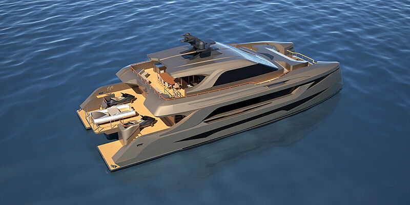 31m SP30 catamaran by Echo Yachts and MMYD