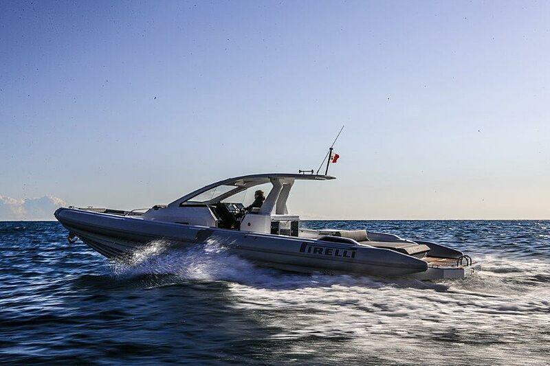 Pirelli 42 tender cruising