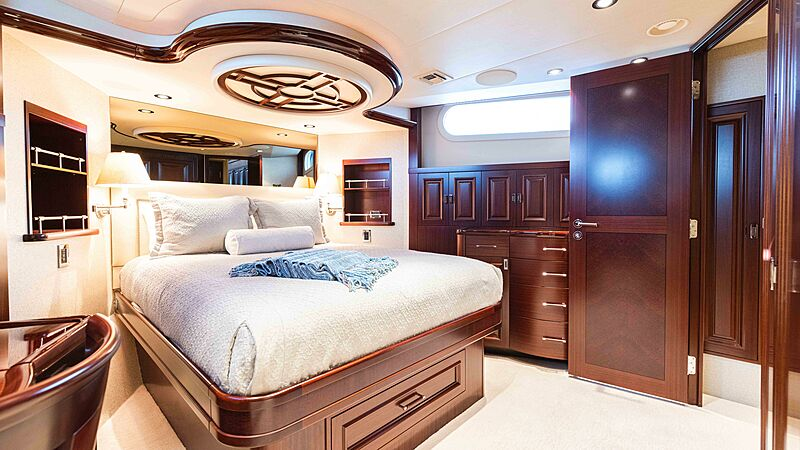 Friendly Confines yacht stateroom