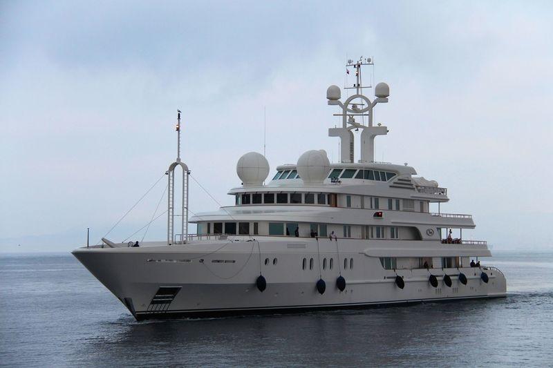 Tueq arriving in Gibraltar