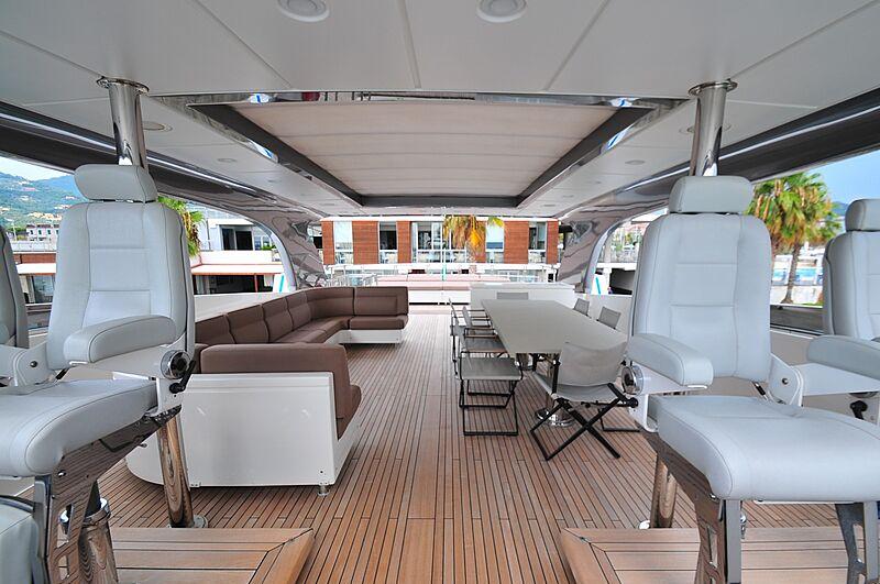 Fifth Avenue yacht deck