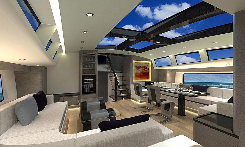 Makara sailing yacht concept by McConaghy Boats