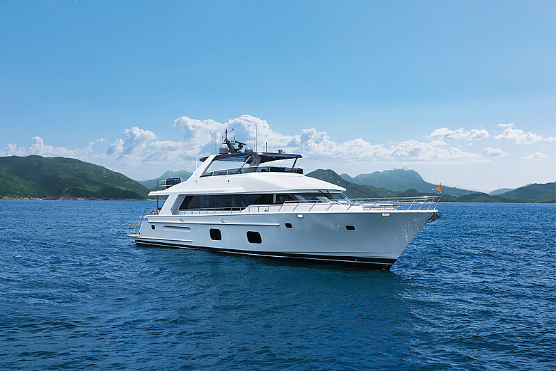 Cheoy Lee CLB88 yacht Cheoy Lee CLB88 yacht cruising