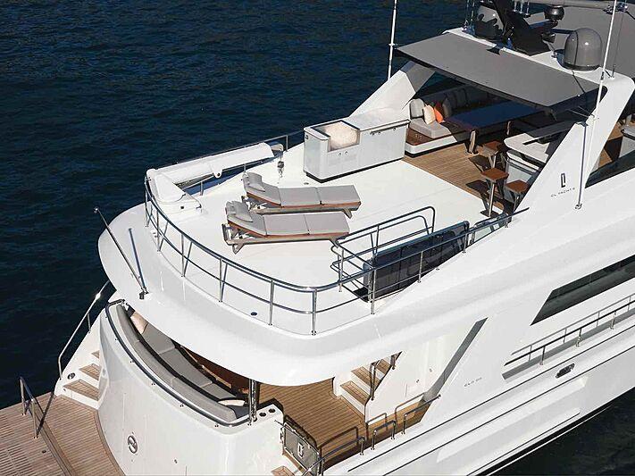 Cheoy Lee CLB88 yacht cruising