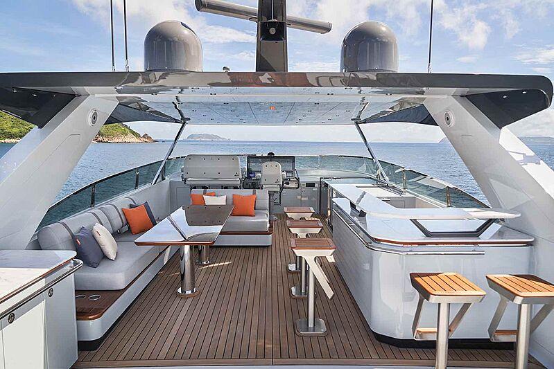 Cheoy Lee CLB88 yacht deck