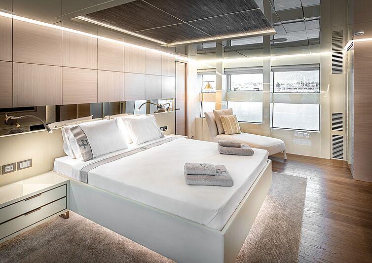 Seven Diamonds yacht interior design