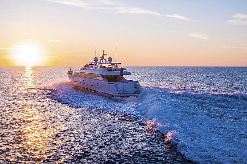 Always Believe yacht cruising