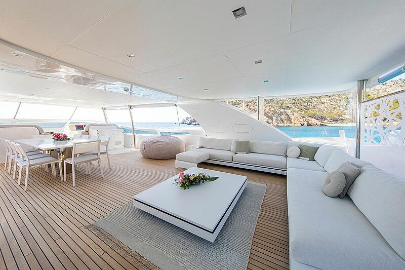 Always Believe yacht deck