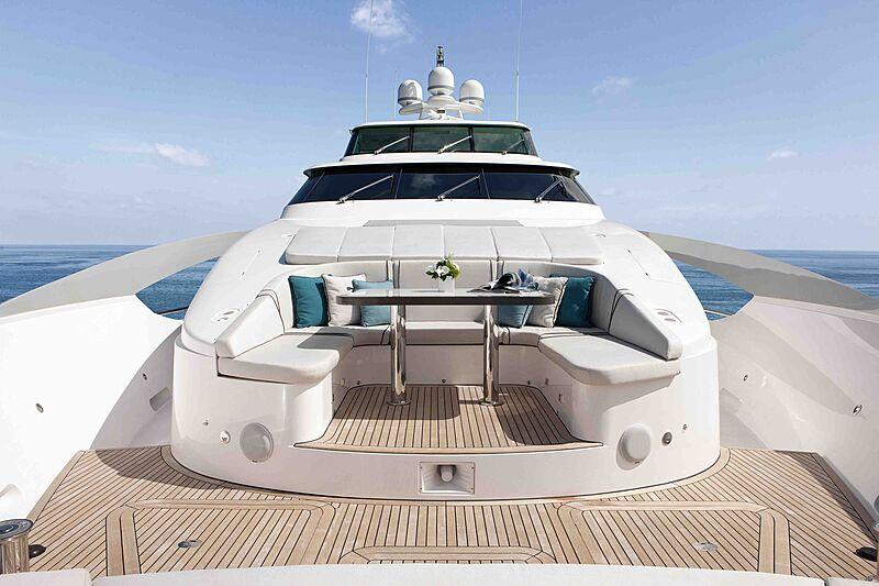 Wild Duck yacht sun deck