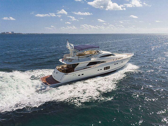 MARES yacht Fairline Boats Ltd