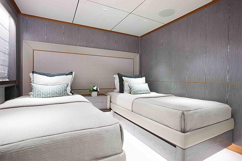 Wild Duck yacht stateroom