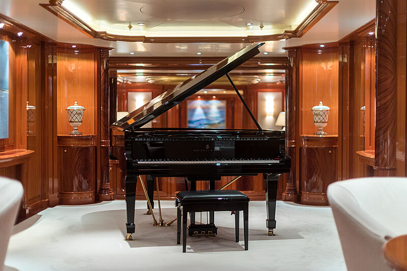 Double Down yacht interior detail