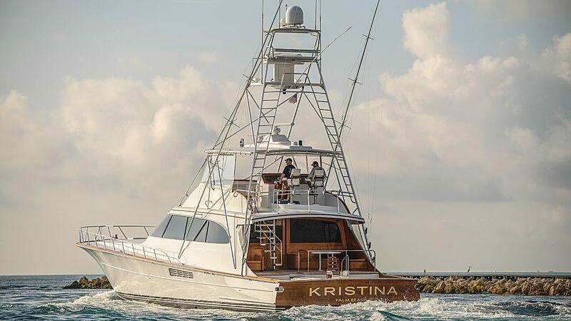 KRISTINA yacht Merritt Boats & Engine Works