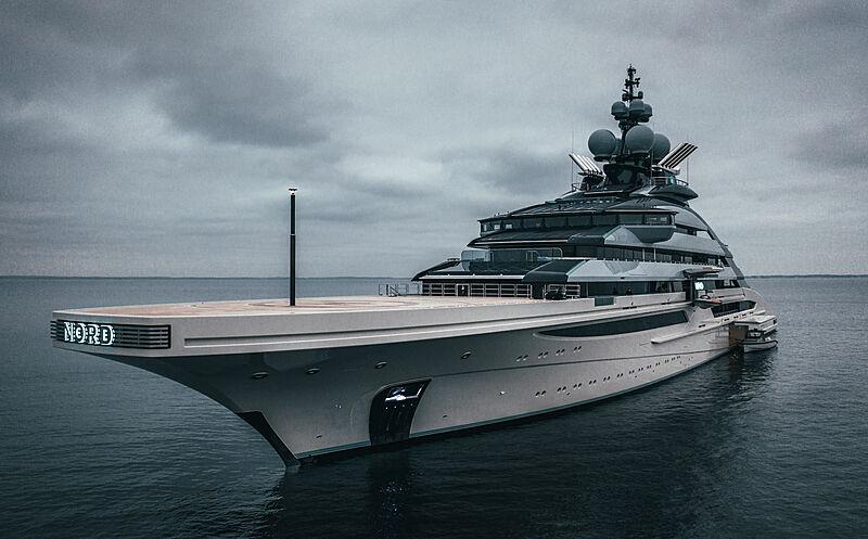 Nord yacht by Lürssen