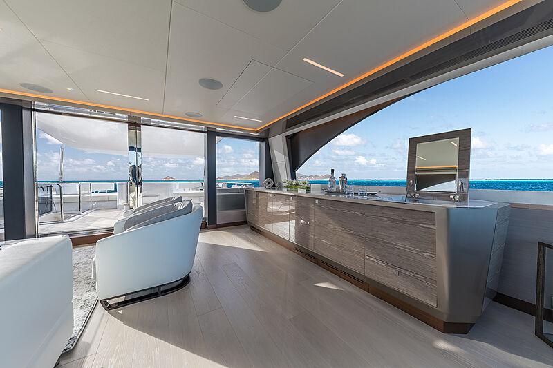 Salon de yacht Ocean Alexander 27E