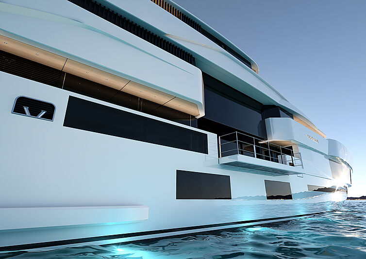 Admiral GC Force 66 yacht exterior design