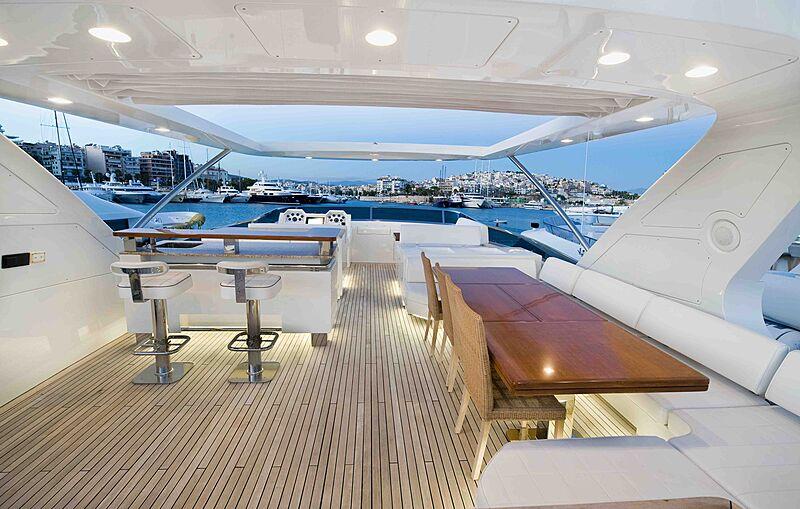 Koukles yacht aft deck
