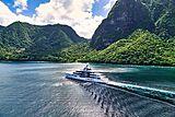 Artefact yacht cruising