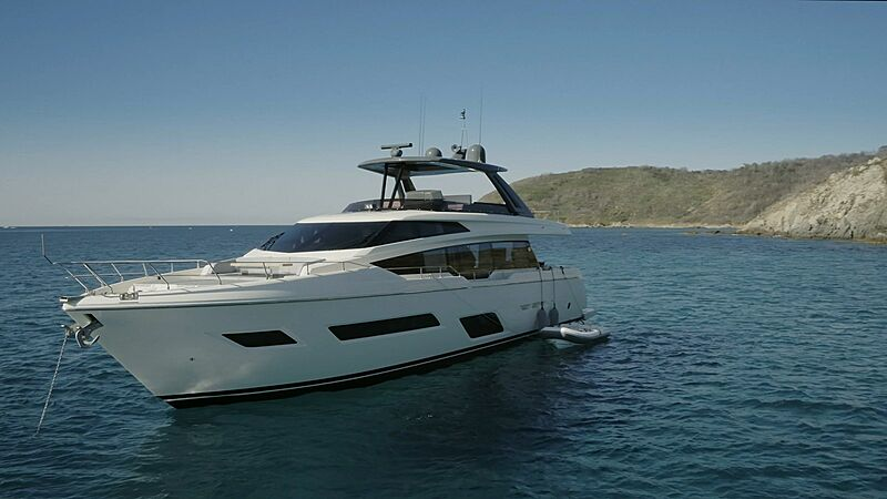 EPIC yacht Ferretti Yachts