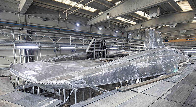 Tankoa S501 hull 4 yacht in build