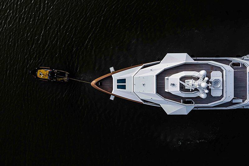 La Datcha yacht cruising at Damen shipyard