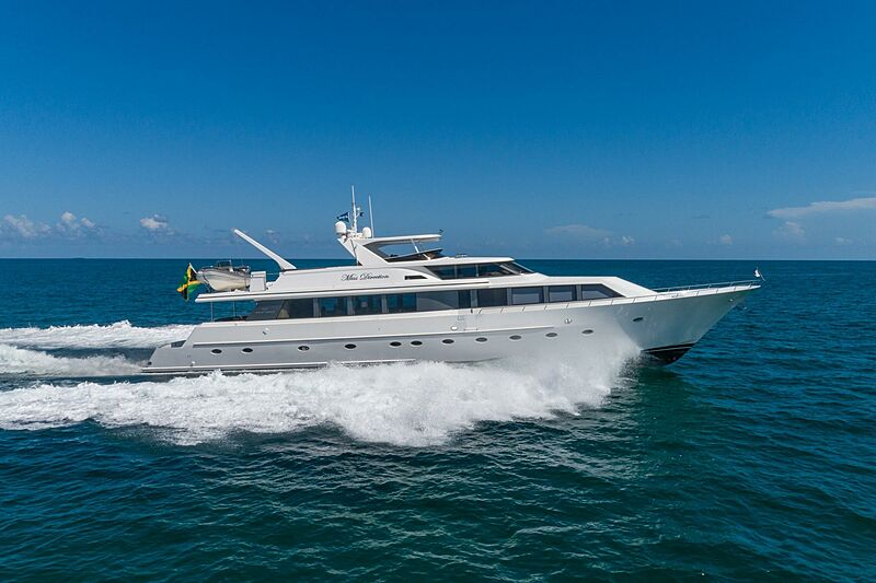 MISS DIRECTION yacht Westship