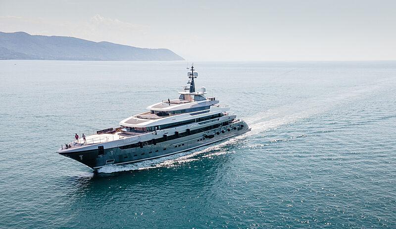 Attila yacht in La Spezia