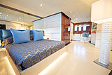 The Shadow yacht stateroom
