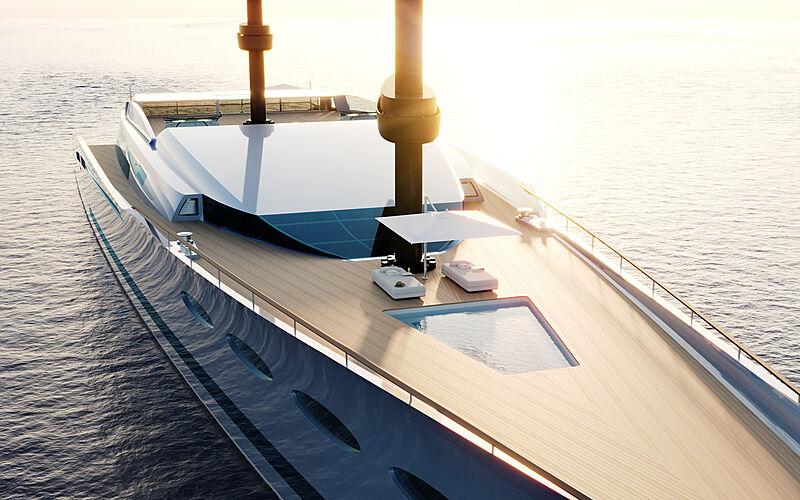 Feadship Eco-Explorer yacht concept exterior design