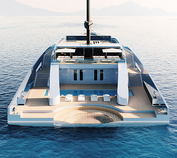 Feadship Eco-Explorer sailing yacht.. The Full Coverage
