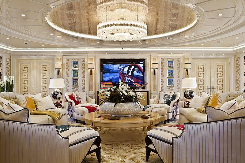 Ace yacht saloon