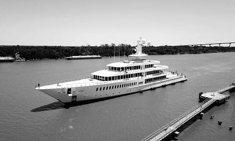 Fountainhead yacht refit at Savannah Yacht Center