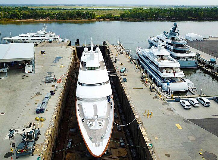 Savannah Yacht Center refits
