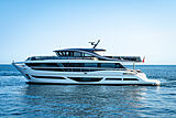 Princess X95/02 yacht cruising