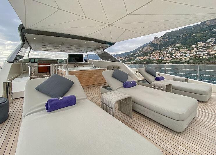 Haiia yacht deck