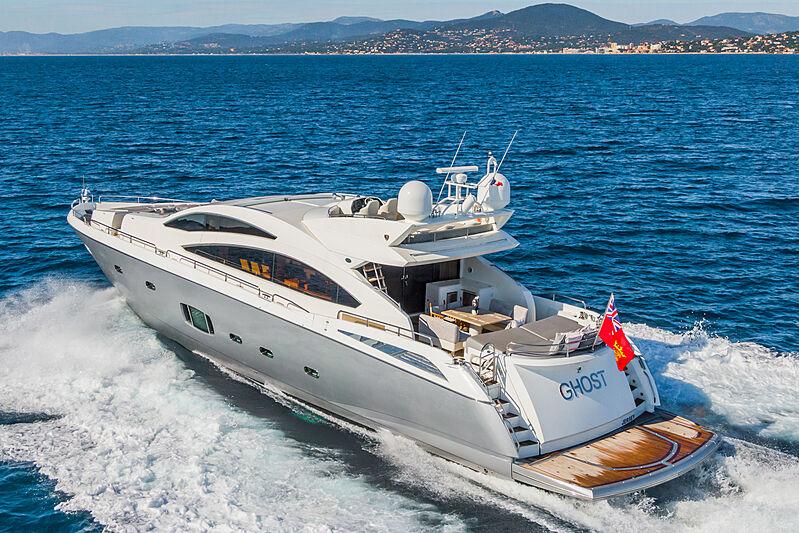 GHOST yacht Sunseeker