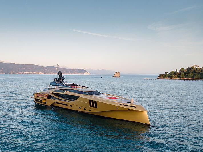 Khalilah yacht in Portovenere
