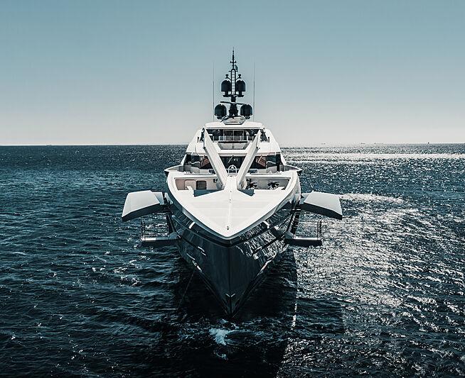 Tatiana yacht cruising