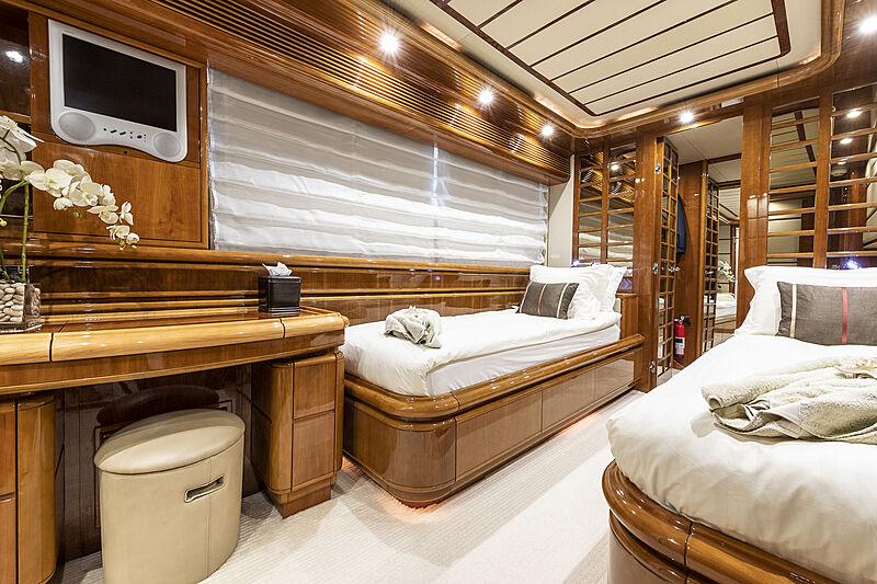 Setai yacht stateroom
