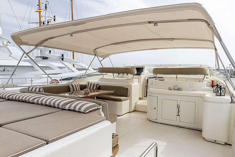 Setai yacht flybridge