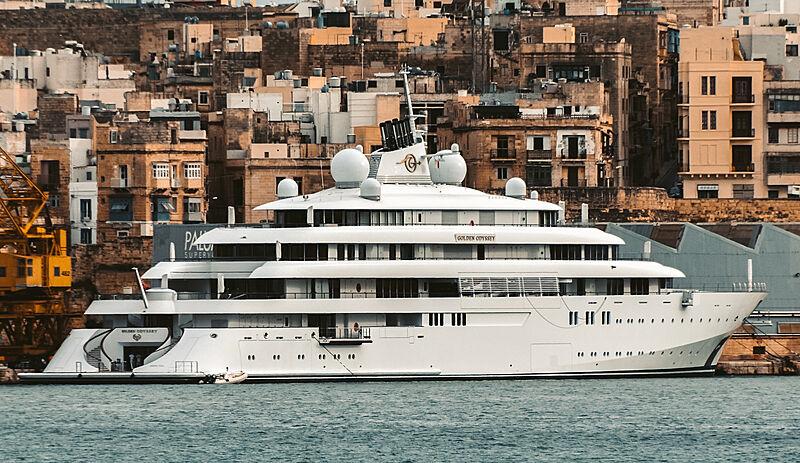 Golden Odyssey yacht by Lürssen in Malta