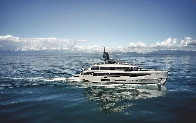 Rebeca yacht cruising